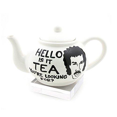 Hello Large Lionel Richie Parody Teapot