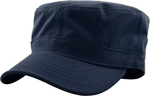 KBK-1464 NAV XL Cadet Army Cap Basic Everyday Military Style Hat