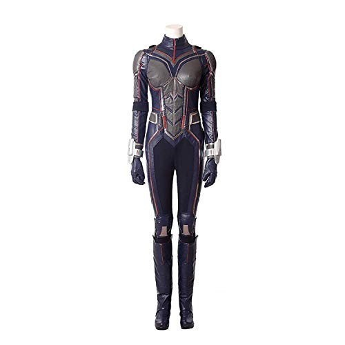 COSSHOW 2018 New Movie Ant-Man and The Wasp Cosplay Costume Women Halloween Jumpsuit Suit]()