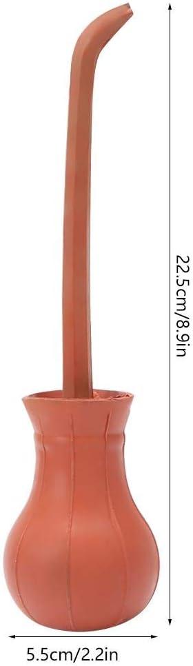Jeffergarden peque/ña Control de Insectos pulverizador de Polvo Bombillas de pl/ástico para jardiner/ía dispensador de termitas y pesticidas Color Rojo