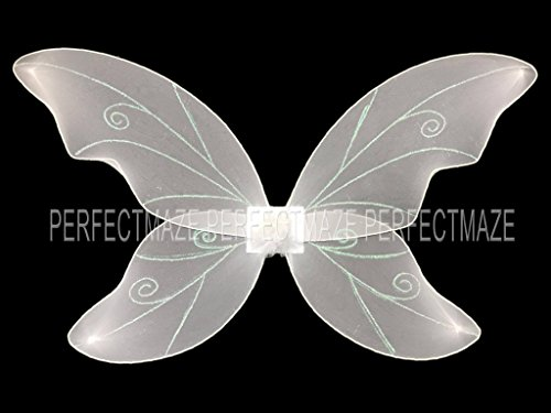 White Fairy Wings (Perfectmaze Large Adult 34