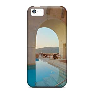 Iphone Cover Case - Spa Resort Thail Swimming Pool Protective Case Compatibel With Iphone 5c