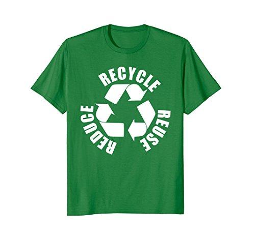 Mens Recycle Symbol Reduce Reuse Recycle Eco Environment T-Shirt XL Kelly (Environment Green T-shirt)