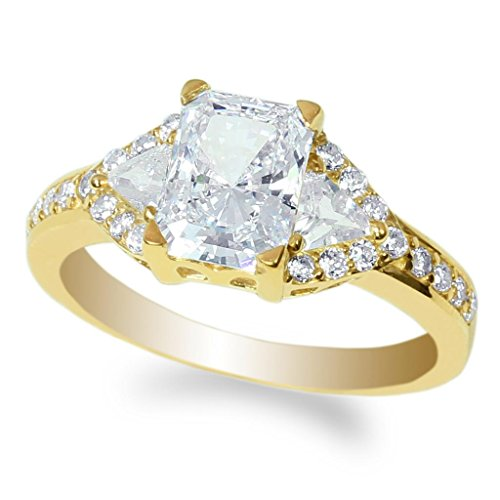 jamesjenny-ladies-10k-yellow-gold-18ct-radiant-cz-beautiful-engagement-solitaire-ring-size-55