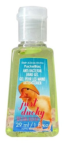 Discontinued Spring - Bath & Body Works - Just Ducky Pocketbac - Discontinued Spring Bloom Scent - Bath & Body Works Antibacterial Hand Sanitizer Gel