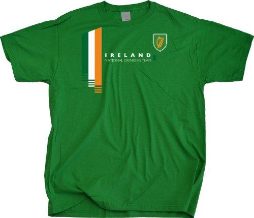 Ann Arbor T-Shirt Co. Men's Ireland National Drinking Team T-Shirt