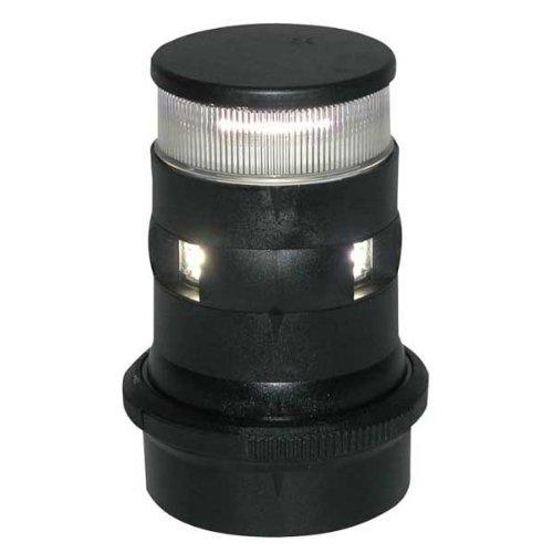 Image of Aqua Signal Masthead/Anchor LED Navigation Light with Black Housing