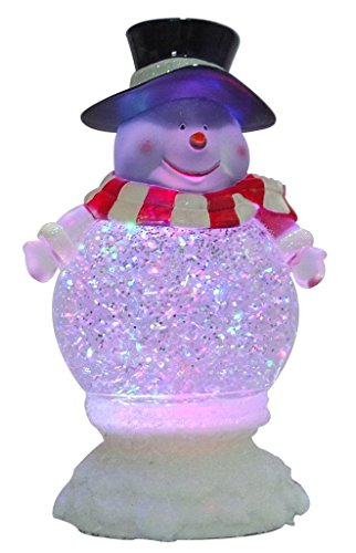 Lightahead LED Glitter Lamp Color Changing Table Top Nigh...