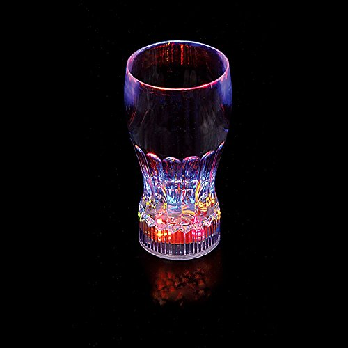 Flashing Panda 11 oz LED Light-Up Flashing Multi-Color Cola / Juice Party Cup