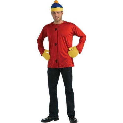 South Park Kid Adult Costume Cartman - Standard - South Park Cartman Adult Costumes