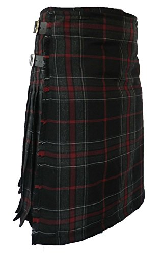 Highland Wool Pant - Scottish Kilt for Men/Boys, 100% 13 oz Wool, Men's Tartan Kilt (40, Spirit of the Highlander)
