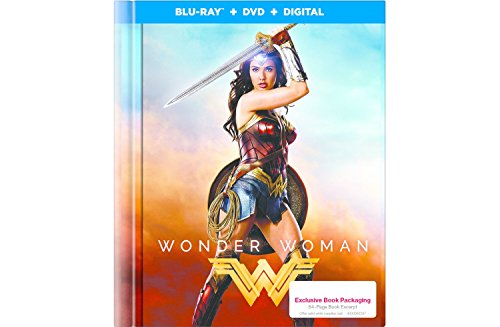Wonder Woman: Exclusive Digibook + Lenticular Collectible Packaging (Blu-ray + DVD + Digital)