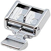 """Alfa Prensatelas para cremalleras """"E"""", accesorio para máquina de coser, acero inoxidable"""