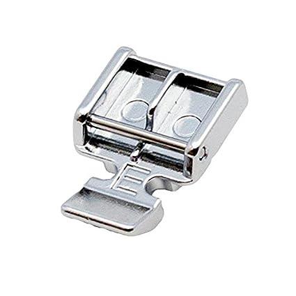"""Alfa Prensatelas para cremalleras """"E"""", accesorio para máquina de coser, acero"""