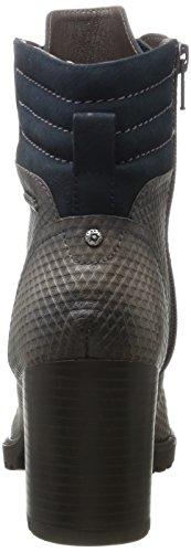Bugatti Dames 421320331915 Laarzen Grijs (donker Grijs / Donkerblauw)