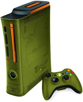 Amazon com: Xbox 360 Console Halo 3 Special Edition (with