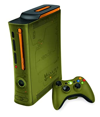Broken lot of 5 xbox 360 console halo 3 special edition with hdmi.
