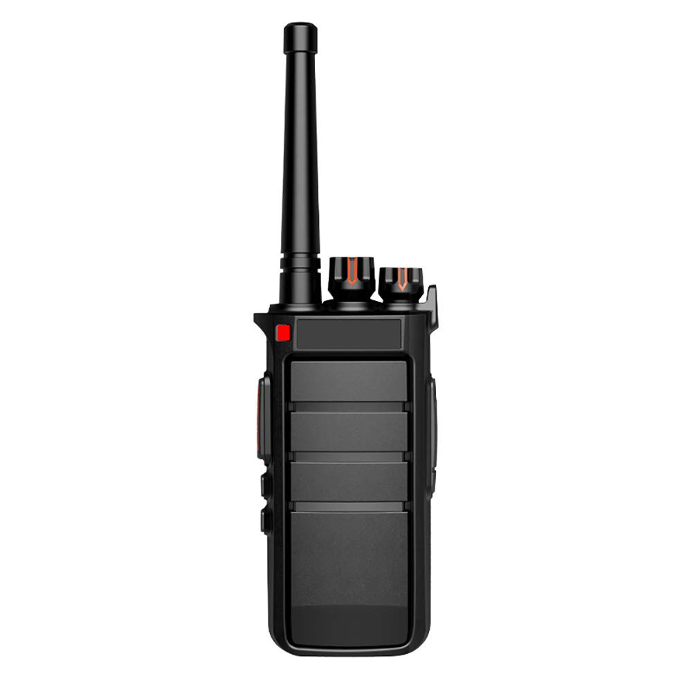 H&T Walkie Talkie 2 Way Radio, RF Output Power 12W Ultra-Long Standby Time(5800Mah Battery) UHF 400~520 Mhz 16 Channel