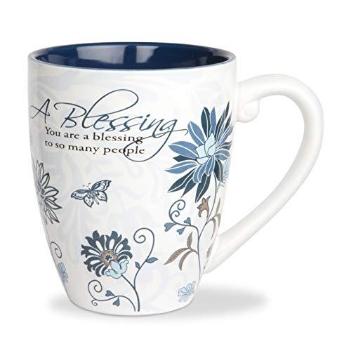 (Pavilion Gift Company 66338 Blessing Ceramic Mug, 17-Ounce, Mark My Words)
