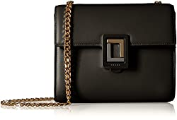 Luana Italy Marella Mini Shoulder Bag Black