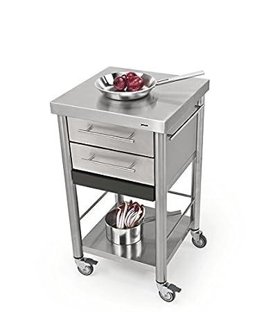 Awesome carrello cucina acciaio pictures ideas design - Carrello cucina design ...