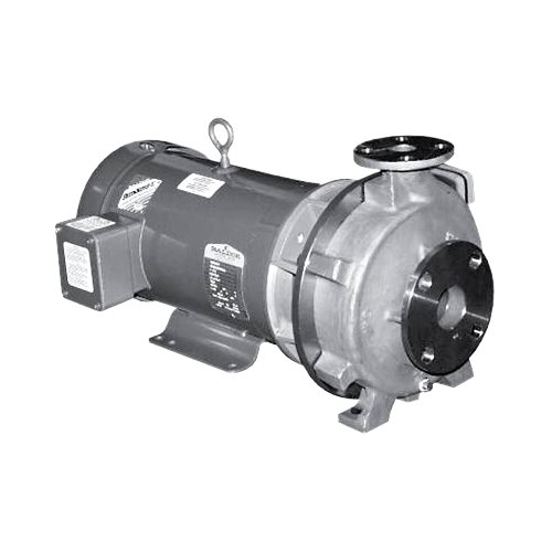 MP Pumps 34091 Chemflo 7 End Suction Centrifugal Pump 316 Stainless Steel, Closed Couple 215TC, 15 hp, 3 Phase, 7.955