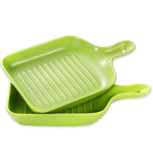 Baking Dish Set Ceramic Bakeware Sets Rectangular Lasagna Pan, Bakeware Tray Set for Cooking, Cake Dinner, Kitchen…