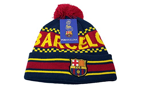 FC Barcelona Authentic Official Licensed Product Soccer Beanie - 005 by RHINOXGROUP
