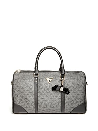 Black Patent Leather Duffle Bag - 3