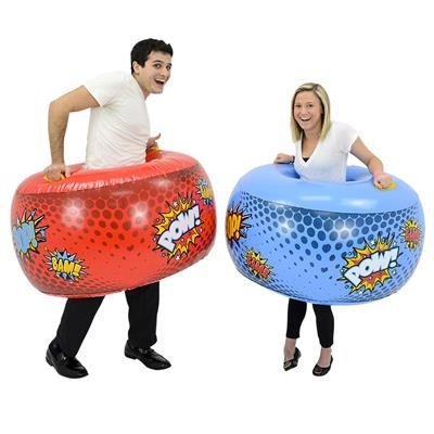 Inflatable Body Bumper Set (Set of Two) by DOMAGRON