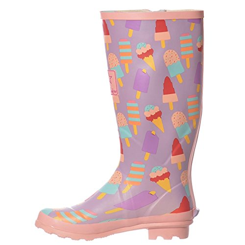 Festival Rain Wellington Ice Cream Women's Boots Onlineshoe Wellie qxIzAAt