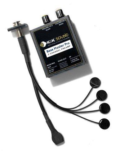 K&K Sound Systems Bass Master Pro Pickup System for Upright Bass