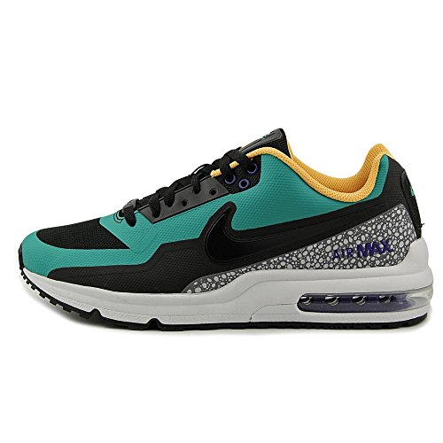 Nike [801728-038] Air Max Ltd 3 Mod Heren Sneakers Nikeblack Emrld Green 038-black Emrld Green