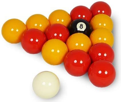 Reds & Yellows Pub Pool Table Balls by Unknown: Amazon.es ...