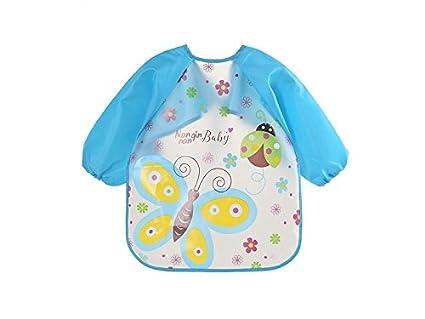 TjcmSs - Toalla de saliva para bebé, diseño de mariposa EVA, para niños de