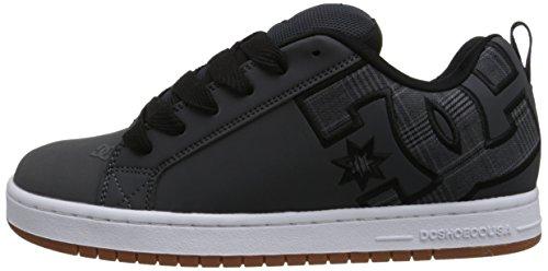 Chaussures Court Se Jeunes Hommes Gris Graffik Dc Noir Lowtop w7ZYzq