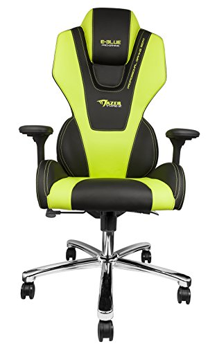 E-Blue Mazer Gaming Chair High Grade PU Leather PC Racing Bucket Seat Office Ergonomic Computer eSports Desk Executive - Cost Ferrari Red