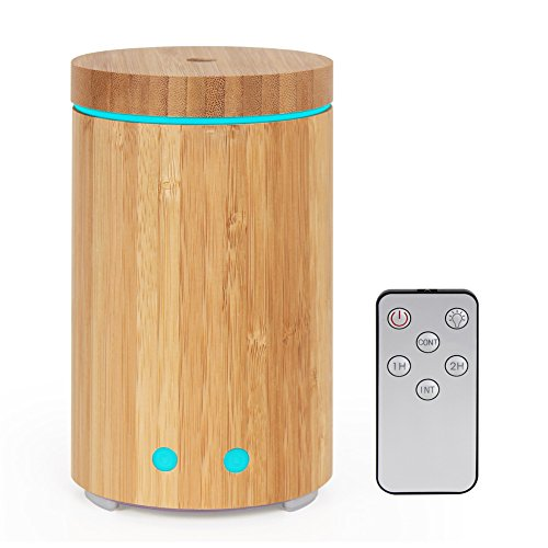 syntus-essential-oil-diffuser-real-bamboo-diffuser-with-remote-control-160ml-ultrasonic-aromatherapy