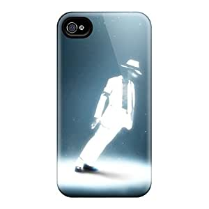 New Michael Jackson Tpu Case Cover, Anti-scratch BzFdWms6469aXxDT Phone Case For Iphone 4/4s
