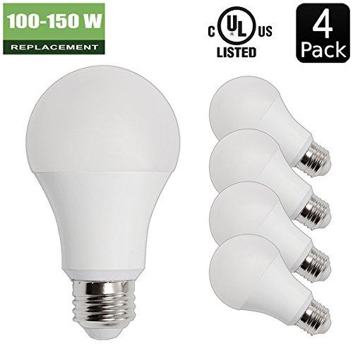 14w-100w-150w-equivalent-4-pack-a19-led-light-bulb-1600-lumens-5000k-daylight-white-e26-medium-screw