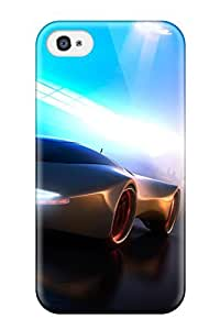 Top Quality Case Cover For Iphone 4/4s Case With Nice Concept Car 2020 Appearance