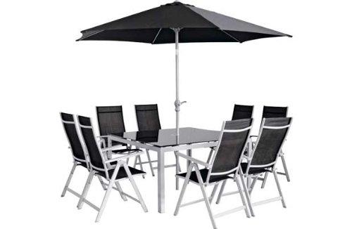 malibu 8 seater patio furniture set. malibu 8 seater patio furniture set with parasol amazon uk