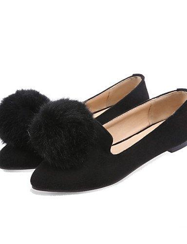 Zapatos Negro Tacón nbsp;– nbsp;– nbsp;– Zehe nbsp;– nbsp;oficina Shangy Guantes nbsp;– nbsp;bajo vestido nbsp;negro nbsp;bailarinas rojo nbsp;puntiaguda lässig nbsp;fieltro nbsp;– cerrados gris Idamen 7ZqqwgBWv