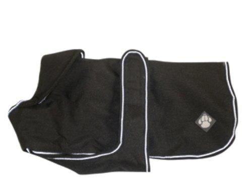 "Danish Design Waterproof Dog Coat, 20""/50cm, Ebony"