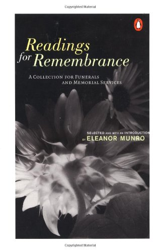 Read Online Readings for Remembrance: A Collection for Funerals and Memorial Services PDF