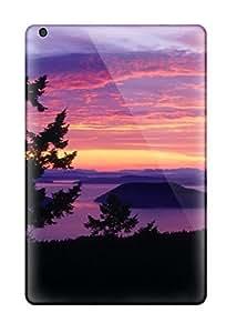 Tpu Shockproof/dirt-proof San Juan Islands Sunset Cover Case For Ipad(mini/mini 2)