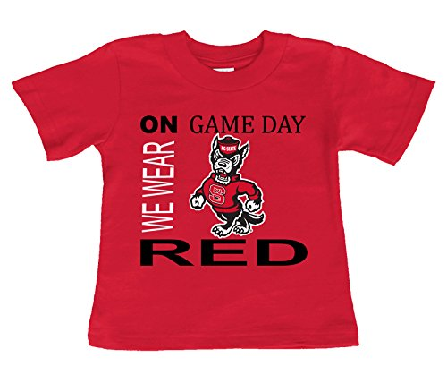 (Future Tailgater NC State Wolfpack On Game Day Baby/Toddler T-Shirt (18 Months))