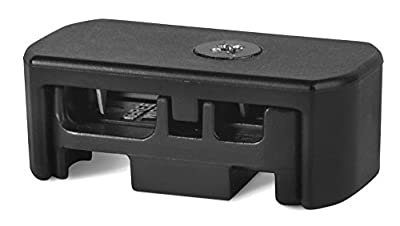 Hinkley Lighting 1507QC Low Voltage Cable Quick Connect 1-Inch Wide 3/4-Inch Height 2-Inch Length, Black