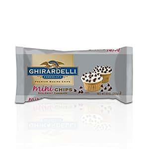 Ghirardelli Chocolate Mini Semi-Sweet Chocolate Baking Chips, 10 oz.