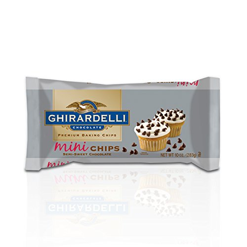 Ghirardelli Chocolate Mini Semi-Sweet Chocolate Baking Chips, 10 oz.